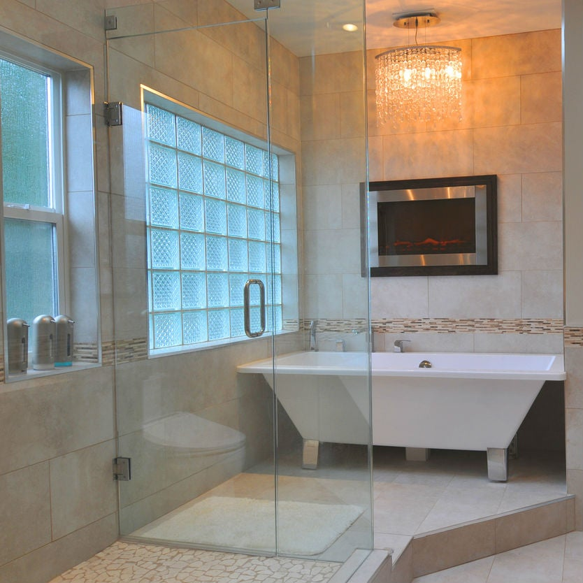 Achieve Privacy with a Glass Block Window in the Shower