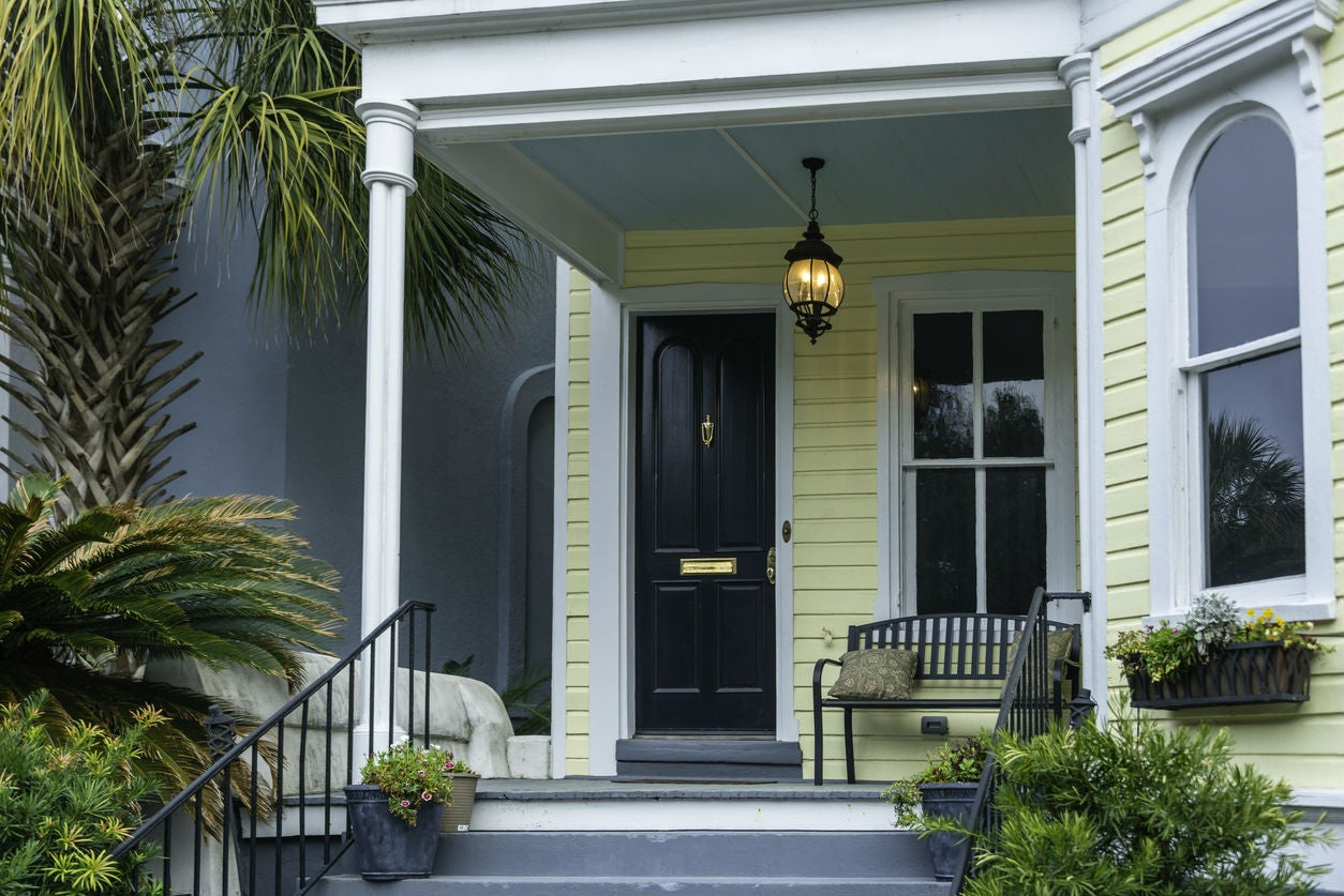 Here S Why Blue Porch Ceilings Are A
