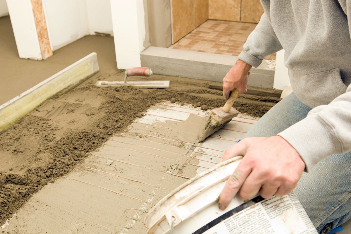 Your Options for Tile Underlayment: Trowelable Products