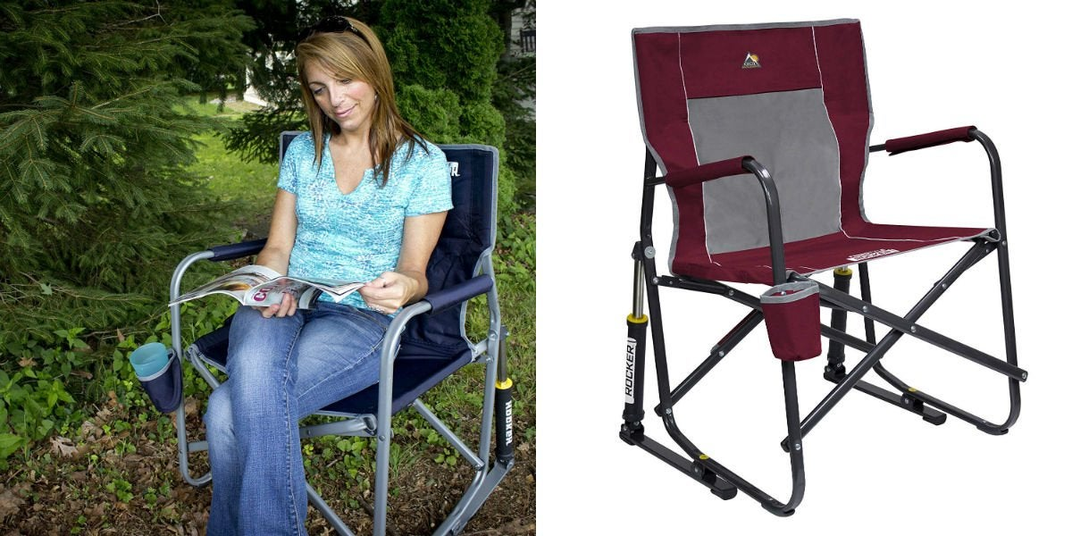 Best Portable Rocker: GCI Outdoor Freestyle Portable Folding Rocking Chair