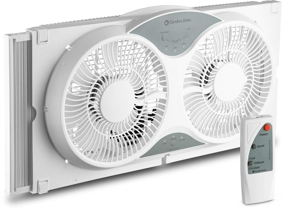 The Best Window Fan for Remote Operation: BOVADO USA