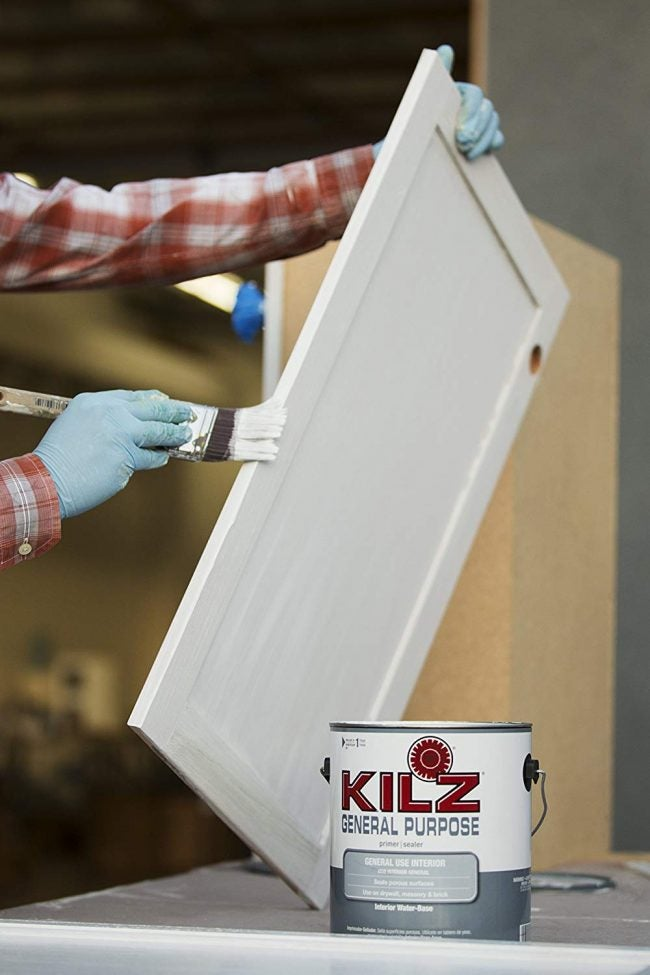 The Best Paint Primer for Interior Walls: KILZ General Purpose Latex Primer