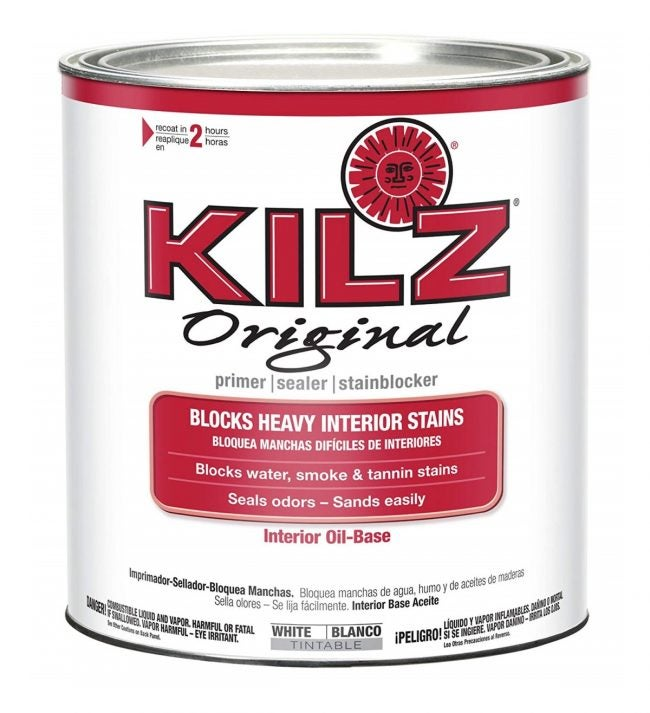 The Best Paint Primer for Cabinets: KILZ Original