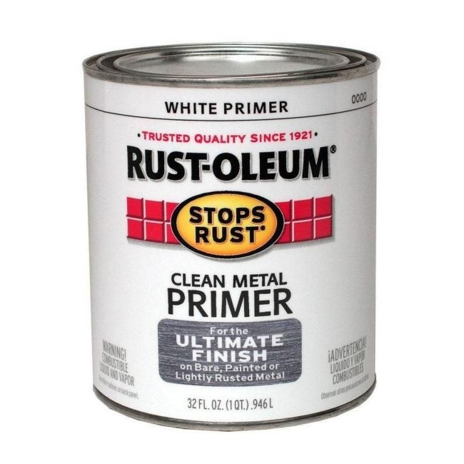 The Best Paint Primer for Metal Surfaces: Rust-Oleum Clean Metal Primer