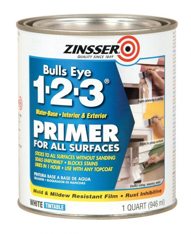 The Best Multipurpose Paint Primer: Zinsser Bulls Eye