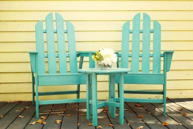 The Best Paint for Outdoor Furniture