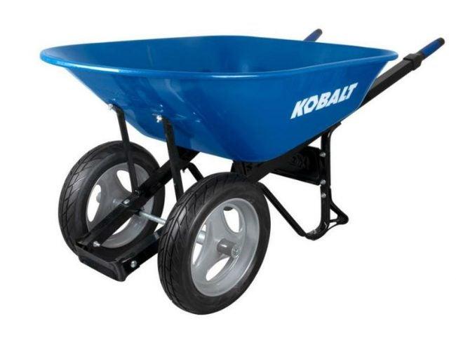 Best Wheelbarrow for Mixing Concrete: Kobalt