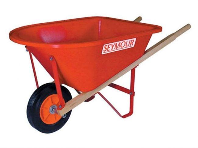 Best Wheelbarrow for Little DIYers in Training: Seymour