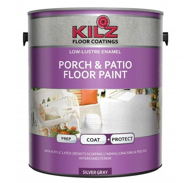 The Best All-Purpose Deck Paint: KILZ