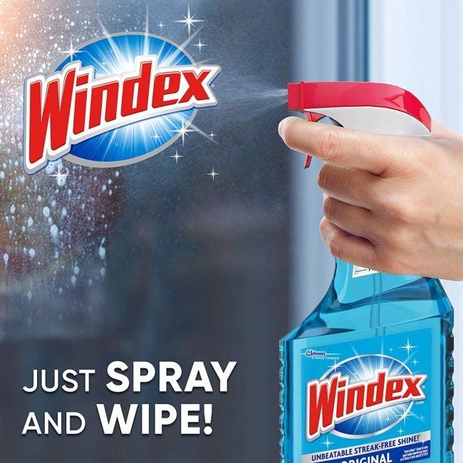 Best Overall Glass Cleaner: Windex Original