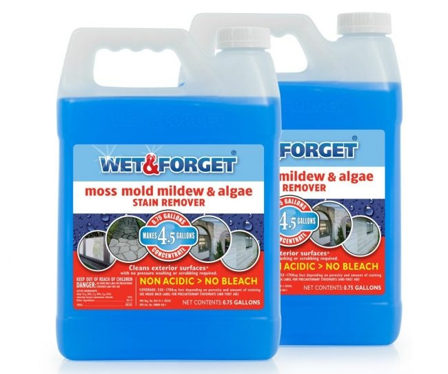 Best Vinyl Siding Cleaner for Mold and Mildew: Wet & Forget