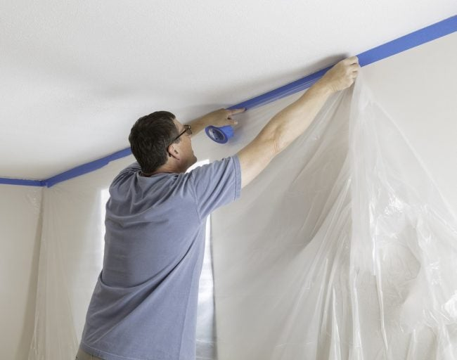 Removing Popcorn Ceiling See The Tools That Do It All Bob Vila
