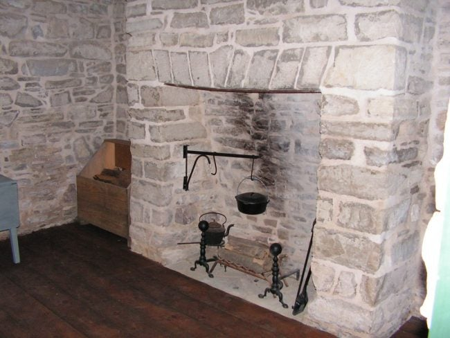 Inside the Summer Kitchen at Ulysses S. Grant National Historic Site