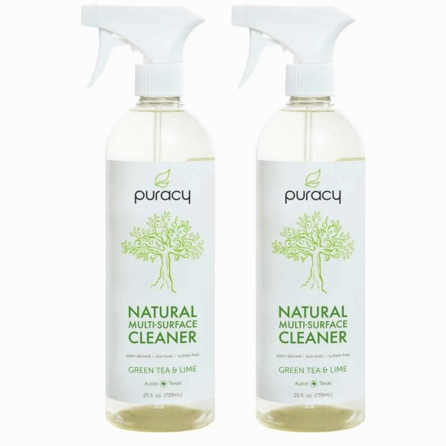 Best Eco-Friendly Bathroom Cleaner for Tile and Countertops: Puracy