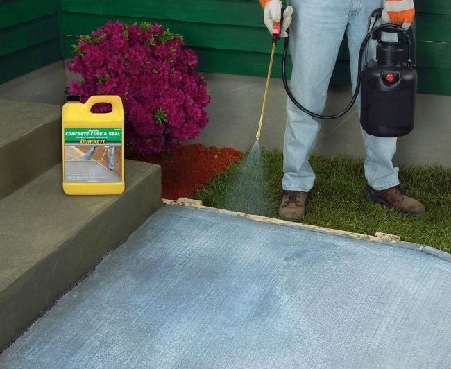 Best Driveway Sealer for Fresh Concrete: Quikrete