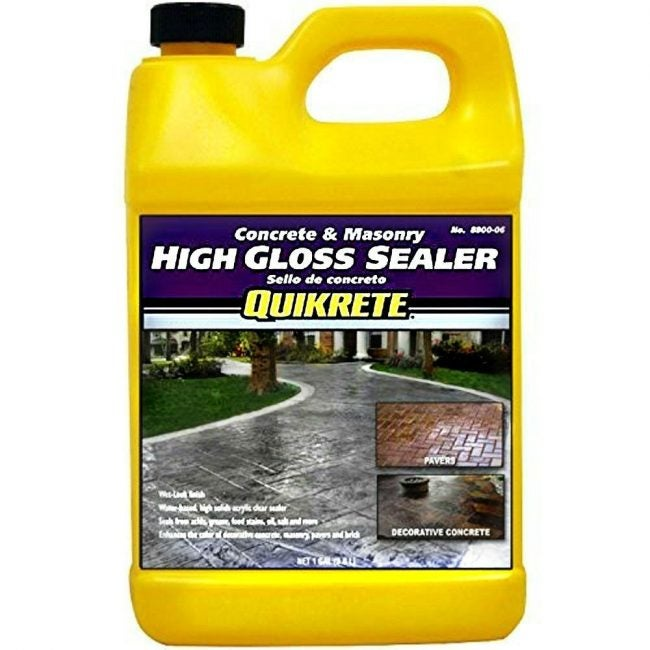 Best Driveway Sealer for a Wet Look: Quikrete High-Gloss
