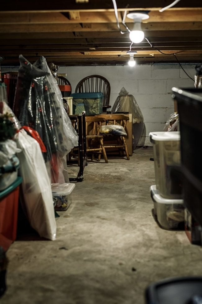 Musty Smell in Basement? Here's How to Clean Up