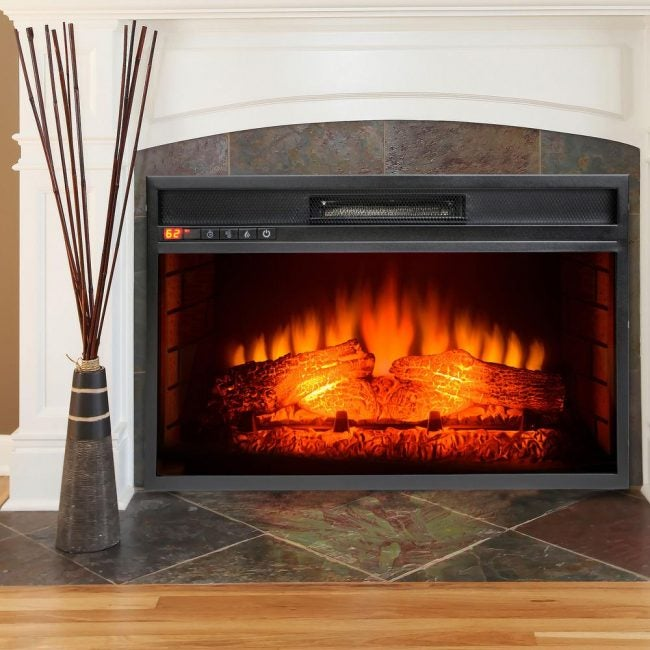 Best Electric Fireplace Insert: AKDY