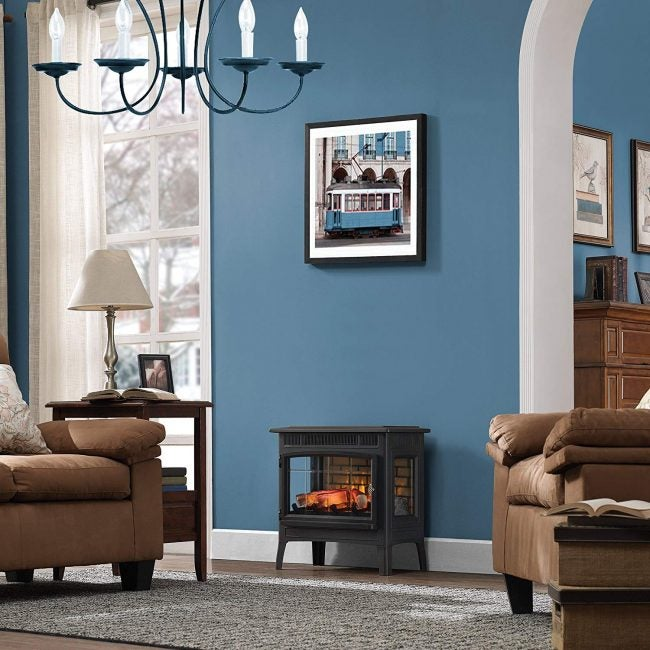 Best Stove-Style Electric Fireplace: Duraflame
