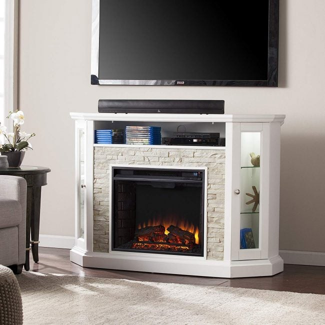 Best Electric Fireplace for Corner Locations: Southern Enterprises