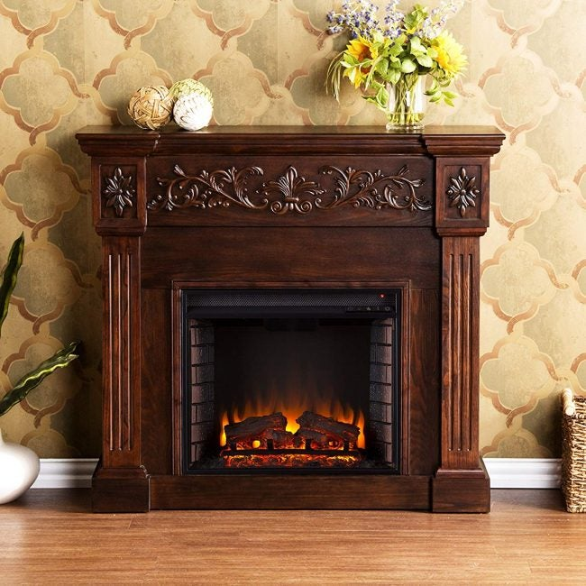 Best Electric Fireplace with a Traditional Look: Southern Enterprises