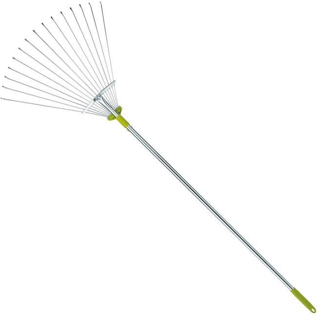Best Leaf Rake with an Adjustable Head: Gardenite