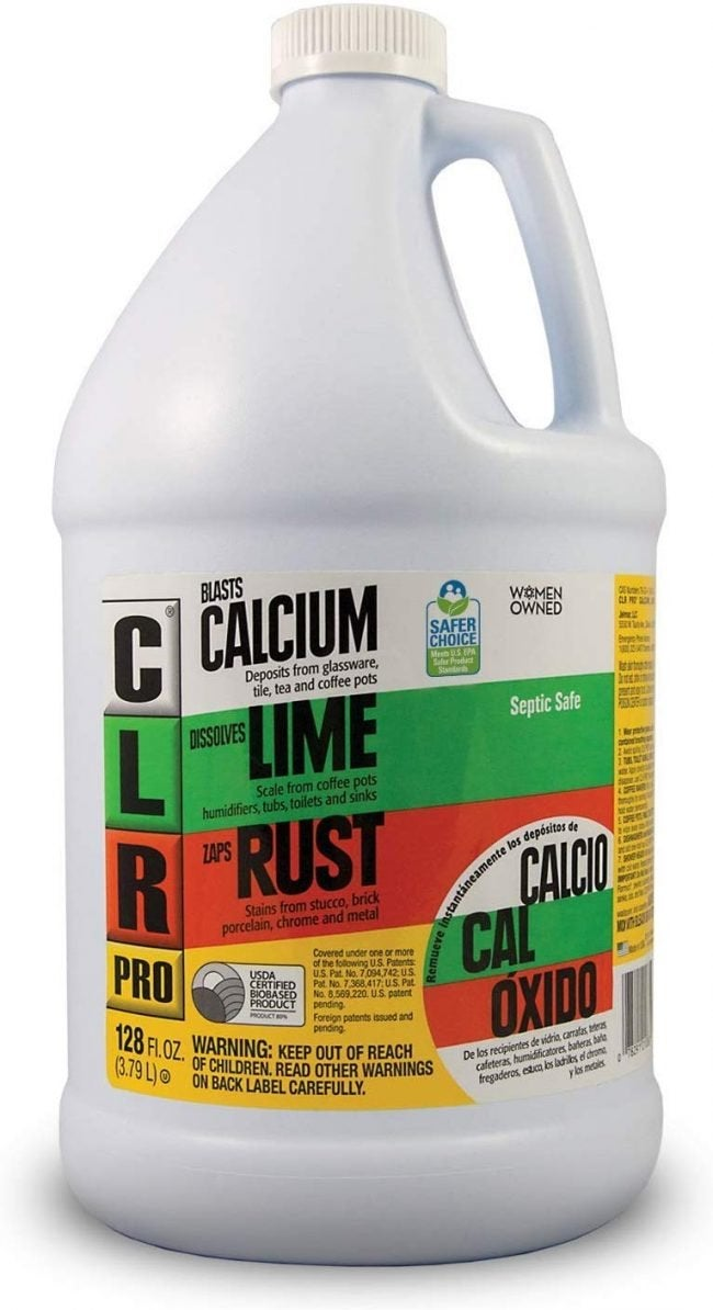 Best Rust Remover for Multipurpose Cleaning: CLR