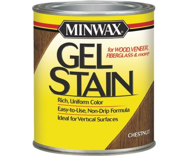 Best Wood Stain (Gel): Minwax