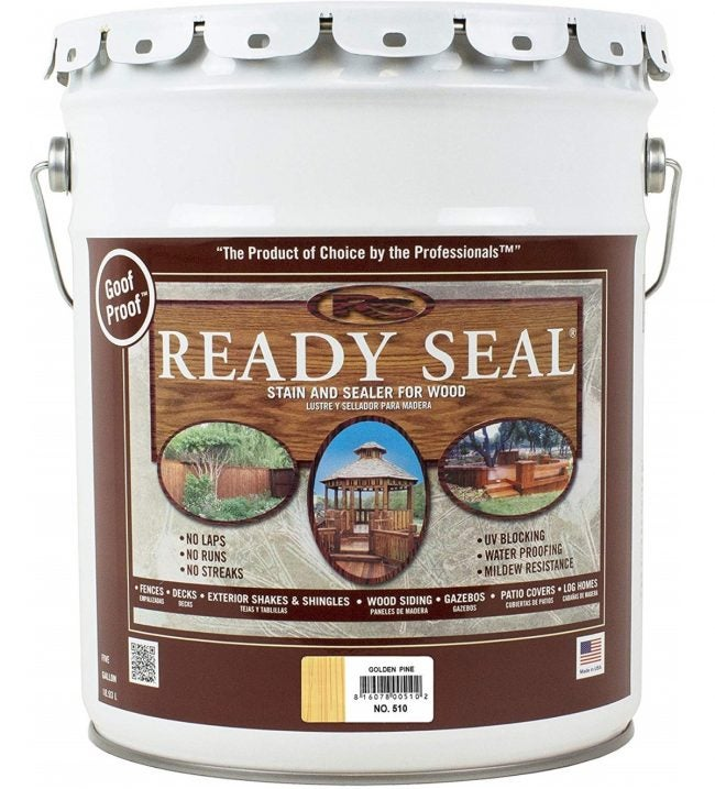 Best Wood Stain for Exteriors: Ready Seal