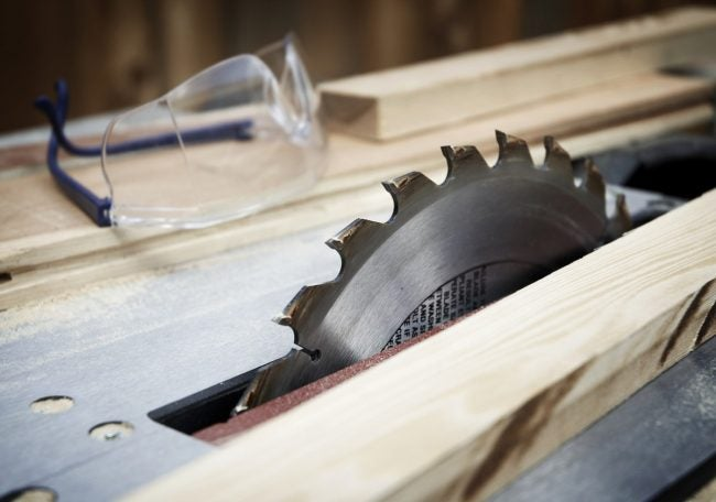 Miter Saw vs. Table Saw: The Table Saw Can Have Dangerous Kickback