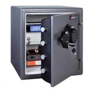 The Best Home Safe Option: SentrySafe SFW123GDC Fireproof Safe and Waterproof Safe
