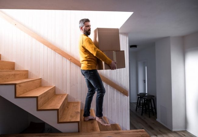 How to Fix Squeaky Stairs from Underneath