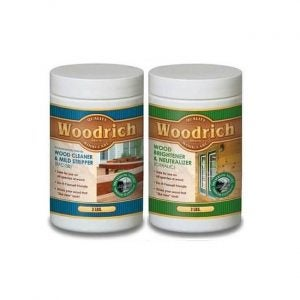 The Best Deck Cleaner Option: Woodrich Cleaner & Brightener for Wood Decks