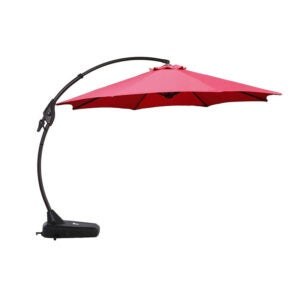 The Best Patio Umbrella Option: Grand Patio NAPOLI 12-foot Offset Umbrella
