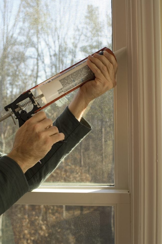 Soundproofing Windows with Specialty Acoustic Caulk