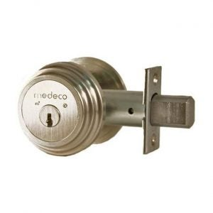 The Best Door Lock Option: Medeco 11TR50319 Single Cylinder Deadbolt