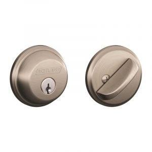 The Best Door Lock Option: Schlage B60N 619 Single Cylinder Deadbolt