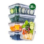 The Best Food Storage Container Option: fullstar Food Storage Containers with Lids