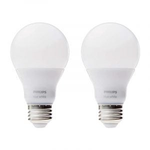 The Best LED Light Bulb Option: Philips Hue White Smart LED