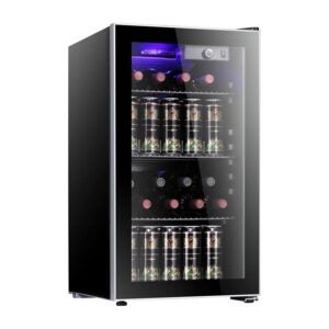 The Best Mini Fridge Option: Antarctic Star Wine Cooler Beverage Refrigerator