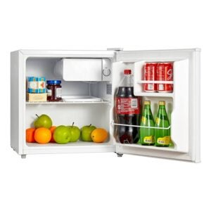 The Best Mini Fridge Option: Midea WHS-65LW1 Compact Refrigerator, 1.6 Cubic Feet