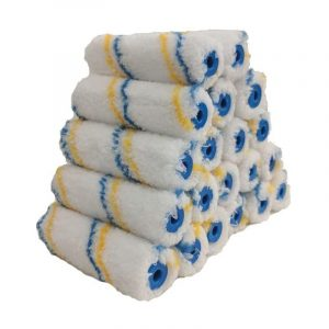 The Best Paint Roller Option: True Blue Professional 4-Inch Microfiber Roller Covers
