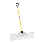 The Best Snow Shovel Option: JM Enterprises Snowplow Snow Pusher