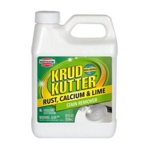 The Best Vinyl Siding Cleaner Option: Krud Kutter Rust Calcium and Lime Stain Remover