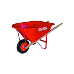 The Best Wheelbarrow Option: Seymour WB-JR Poly Tray Lightweight Wheelbarrow