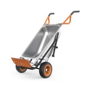 The Best Wheelbarrow Option: WORX Aerocart 8-in-1 Wheelbarrow