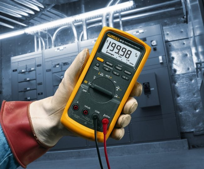 Best Multimeter: Fluke Industrial