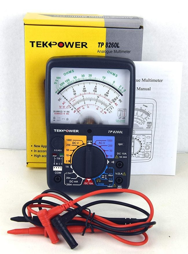 Best Multimeter: Tekpower