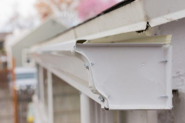 Easy Repairs for Leaking Gutters