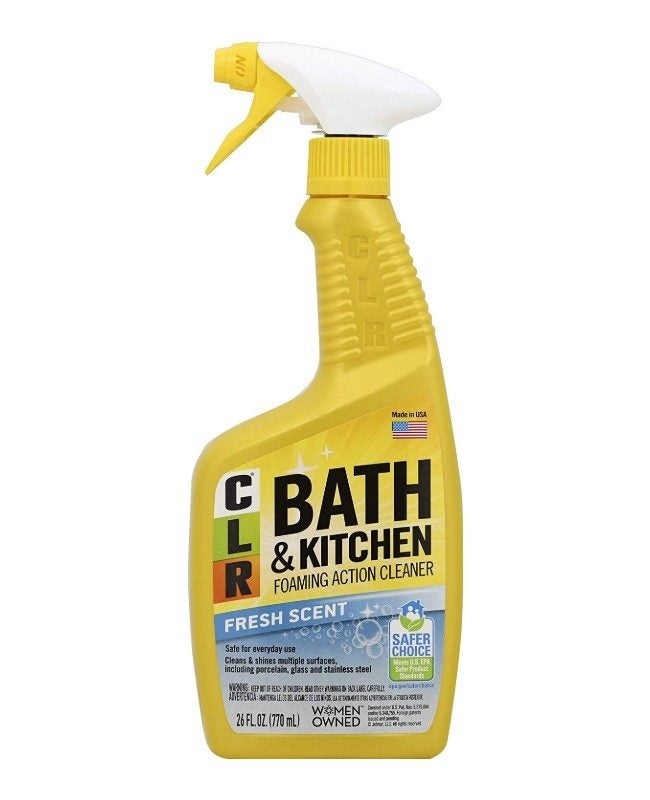 The Best Grout Cleaner Option: CLR Bath & Kitchen Cleaner